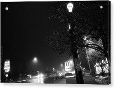 Streetlights Acrylic Print
