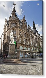 Streets Of Antwerpen Acrylic Print by Andre Goncalves