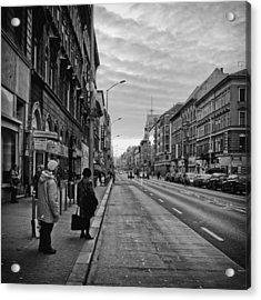 Streets Of Budapest Acrylic Print