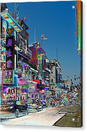 Streets Of Color Acrylic Print