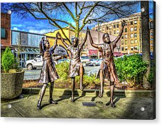 Acrylic Print featuring the photograph Streets Of Everett by Spencer McDonald