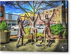 Streets Of Everett Acrylic Print by Spencer McDonald