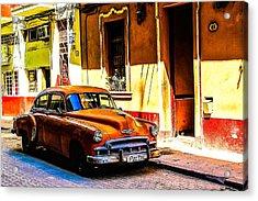 Streets Of Havana Acrylic Print