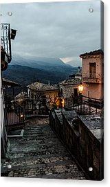 Streets Of Italy - Caramanico 3 Acrylic Print by Andrea Mazzocchetti