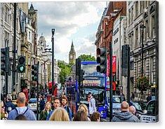Streets Of London Acrylic Print
