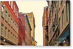 Streets Of Montreal Acrylic Print