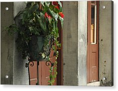 Acrylic Print featuring the photograph Streets Of New Orleans by Lori Mellen-Pagliaro