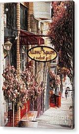 Streets Of San Fran Acrylic Print