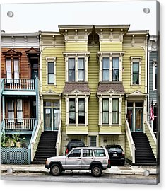Streets Of San Francisco Acrylic Print