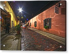 Streets Of St Augustine Acrylic Print