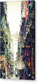 Streetscape 1 Acrylic Print
