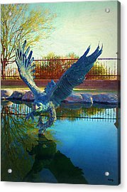 Strength Renewed Acrylic Print by Glenn McCarthy Art and Photography