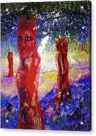 In The Silence Acrylic Print