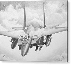 Strike Eagle Acrylic Print