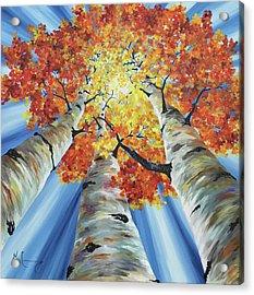 Striking Fall Acrylic Print
