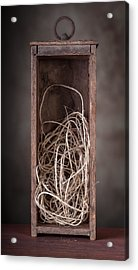 String Box Still Life Acrylic Print