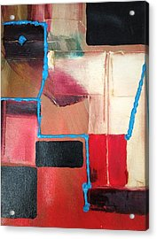 String Theory Abstraction Acrylic Print