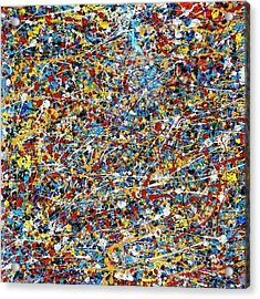 String Theory Acrylic Print by Dominic Piperata