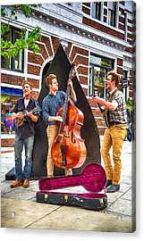 String Trio Acrylic Print