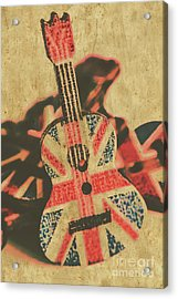 Stringed In Great Britain Acrylic Print
