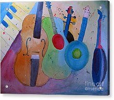Strings Acrylic Print