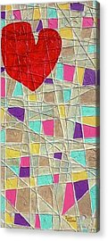 Strings To My Heart  Acrylic Print