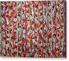 Striped Acrylic Print by Biagio Civale