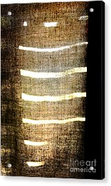 Stripes And Texture Acrylic Print