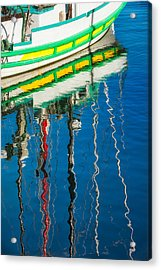 Stripes  Acrylic Print by Joan Herwig