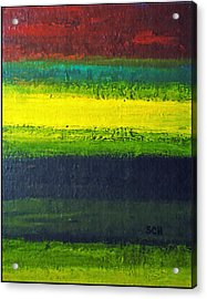 Stripes Number 3 Acrylic Print by Scott Haley