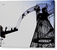 Acrylic Print featuring the photograph Striving by David Coblitz