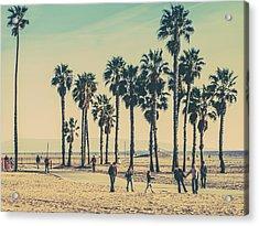 Stroll Down Venice Beach Acrylic Print