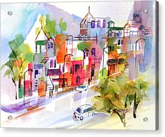 Stroll In Montreal Acrylic Print