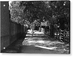Stroll To Store Acrylic Print by Eric Liller