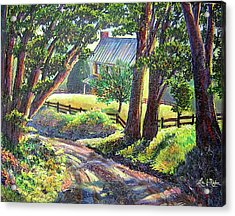 Strolling Down Old Rapidan Road Series Acrylic Print