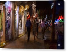 Strolling Duval Acrylic Print