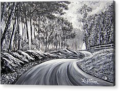 Acrylic Print featuring the painting Strollling Down Old Rapidan Road by Lee Nixon