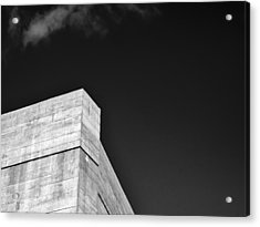 Strong Contrast Wall - Madison - Wisconsin Acrylic Print by Steven Ralser