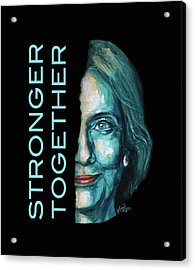 Stronger Together Acrylic Print
