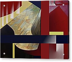 Structure 0217 Acrylic Print by Walter Fahmy