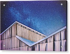 Structure And Stars Acrylic Print