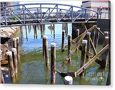 Acrylic Print featuring the photograph Structures by Bill Thomson