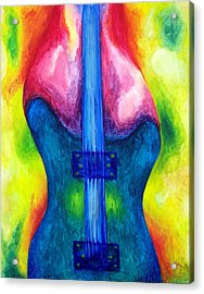 Strung Out Acrylic Print by Shasta Miller