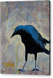 Acrylic Print featuring the painting Struttin' by Pattie Wall