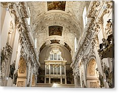 Sts Peter And Paul Church Interior Acrylic Print