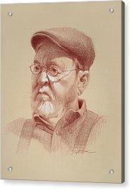 Stuart Acrylic Print by Todd Baxter
