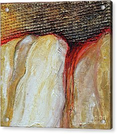Stucco Canyon Acrylic Print