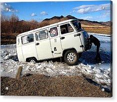 Stuck In Mongolia Acrylic Print