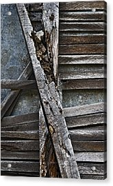 Stud And Lath Acrylic Print by Murray Bloom