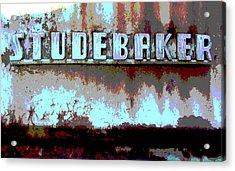 Studebaker  Acrylic Print by Audrey Venute